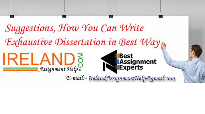 Dissertation help ireland question