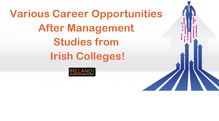 Various Career Opportunities after Management Studies from Irish Colleges!