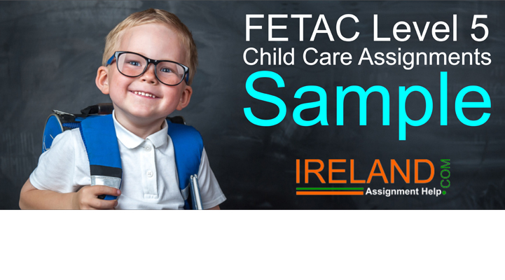 FETAC Level 5 Child Care Assignments Sample