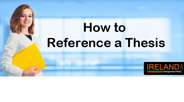 How to Reference a Thesis
