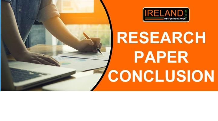 write Research paper Conclusion