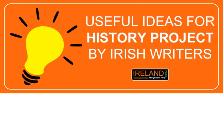 Useful Ideas For History Project By Irish Writers