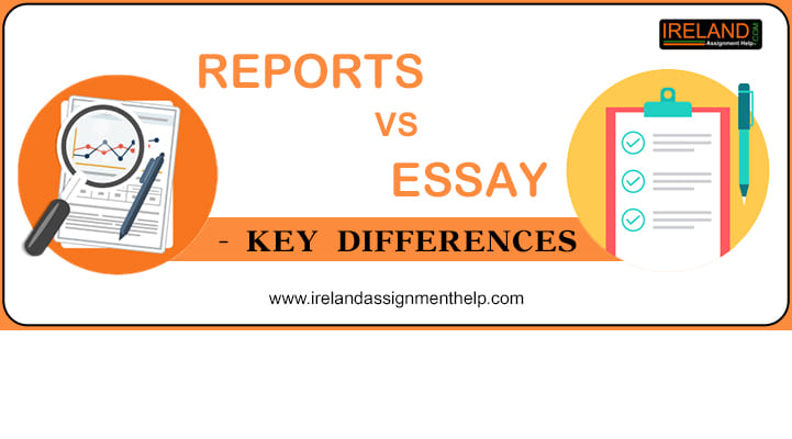 Differences between Essays, Reports and Journals